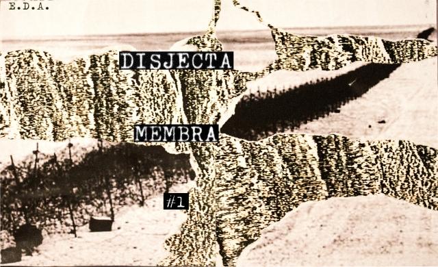 Disjecta Membra #1 Cover